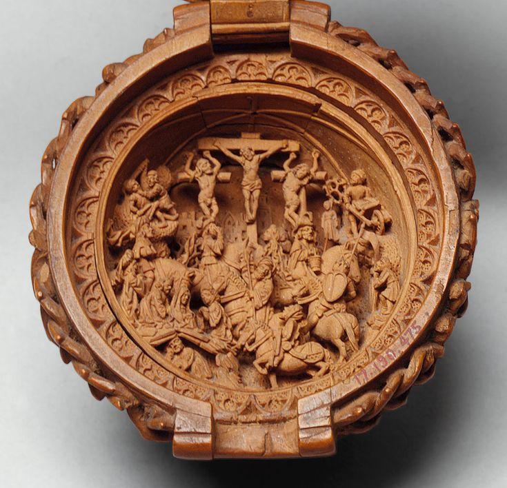 Rosary Bead  Date: 1500–1510 Culture: South Netherlandish Medium: Boxwood Dimensions: Diam: 2 1/16 in. (5.2 cm)
