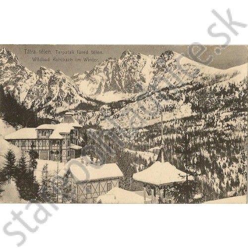 Tatry, Feitzinger č. 1015 - Pohľadnice