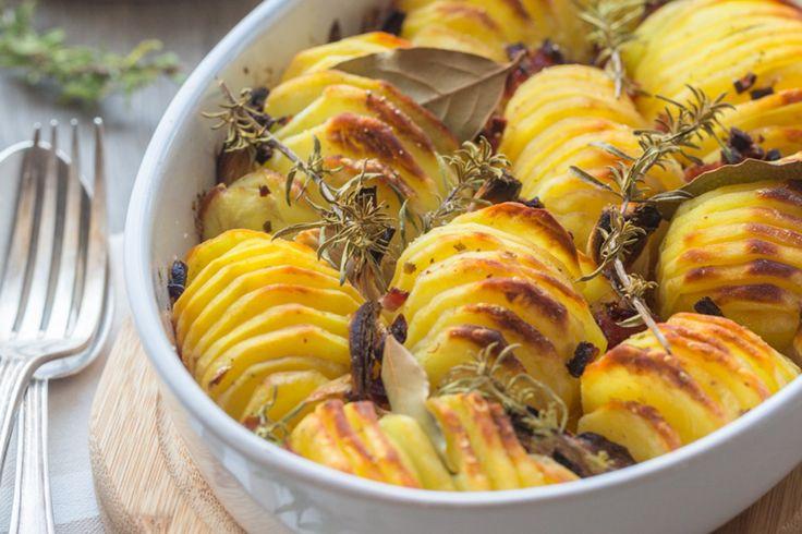 Pommes de terre rôties croustillantes - Cuisine Addict