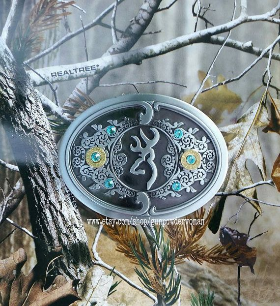 Gunpowder Woman Bullet Browning Belt Buckle. Perfect Christmas gift for your Country Girl who Loves Guns! Bullet Jewelry. www.etsy.com/shop/gunpowderwoman