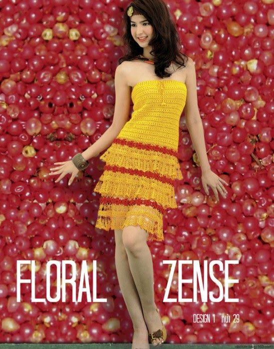 Crochetemoda: Vestido de Crochet Amarelo: Crochet Fashion, Crochet Ideas, Crochet Dresses, Crochet Art, Crochet Patterns, Patterns Dresses, Crochet Amarelo, Crochet Clothing