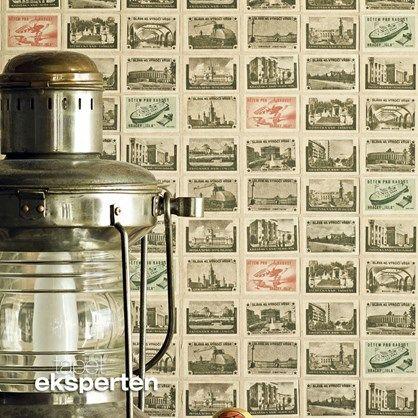 Back in the USSR - vintage tapet