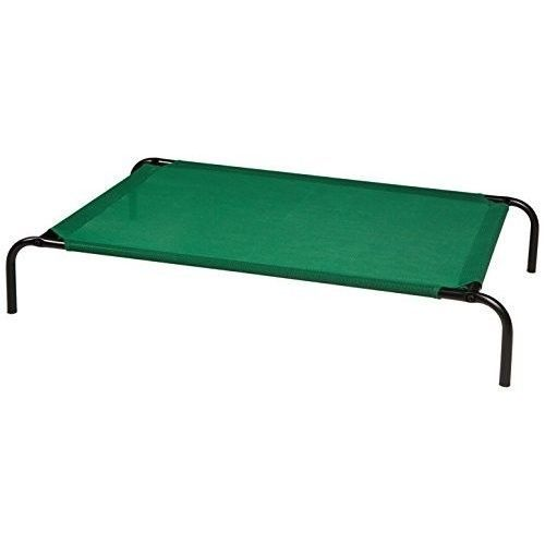 Outdoor Raised Dog Bed Elevated Pet Portable Cot Camping Picnic