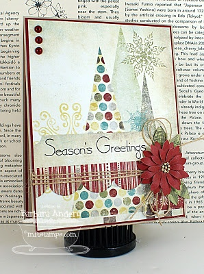 http://barspaperpursuits.blogspot.com/: Scrapbook Ideas, Cards Christmas, Handmade Cards
