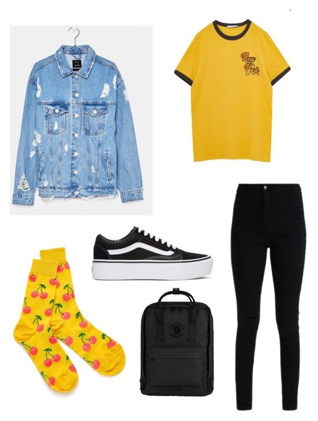 """Ringer hipster"" by kyrarosie on Polyvore featuring mode, Vans, WithChic en Fjällräven"