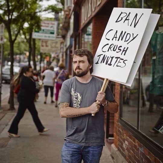 6f2ee8d9818a676ed46b87e128c547e2 - 15+ Of The Funniest Protest Signs Ever - Tira-Pasagad | Saksak-Sinagol