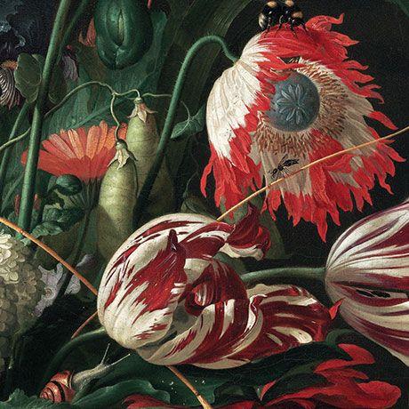 Floral Tapete - Markantes Wanddesign von KEK Amsterdam