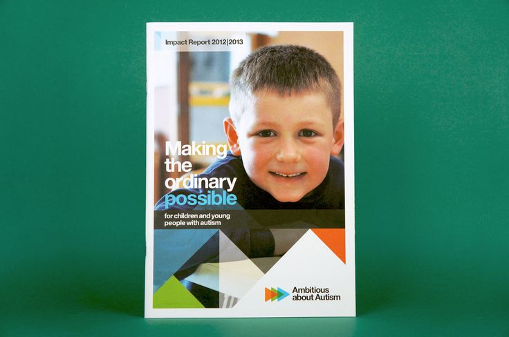 Ambitious about Autism – Impact Report. Minx Creative.