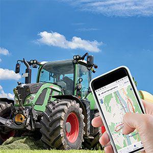 Dispositivo GPS para localizar máquinas robadas. Es discreto (indetectable por los ladrones) y autónomo (con batería propia). Avisa del robo inmediatamente y localiza cualquier equipo auxiliar, apero o máquina robada, incluso en interiores de edificios o cuando el GPS deja de funcionar.