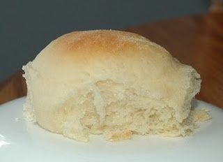 One Hour Rolls ~ Oh wow! So simple, so light, so fluffy… so warm right now. Definitely a hit and a new favorite! They were a tad 'crumbly' when I tried to spead with butter…don't know what may have caused that, but they were good! :)