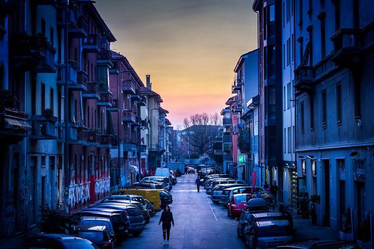 Girl in Blue | by Niklas Rosenberg #Milan #Navigli #Italy