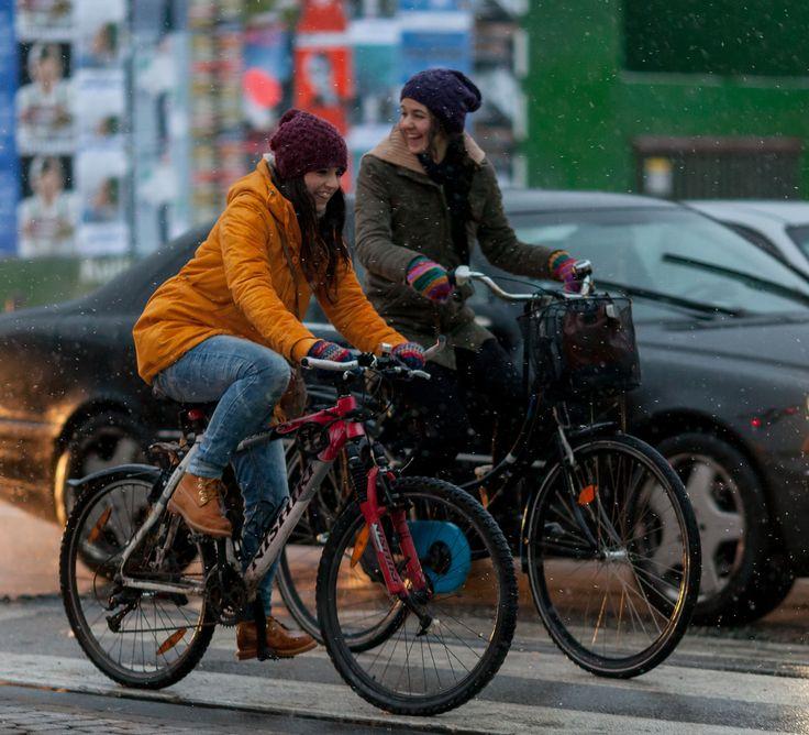 https://flic.kr/p/dQ7xVn | Copenhagen Bikehaven by Mellbin - Bike Cycle Bicycle - 2013 - 0211 | Copenhagen suffered another bout of heavy, wet snow yesterday.