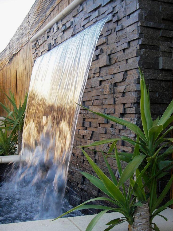 водопад стена своими руками фото эффект