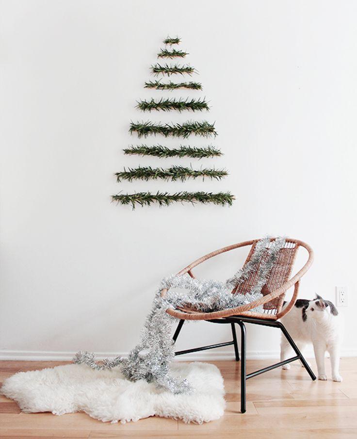 10 inspirações para uma decoração de Natal minimalista