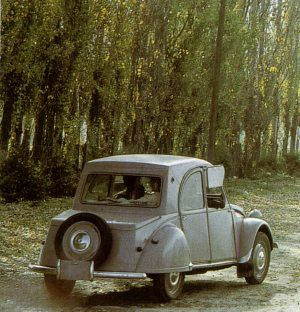 Citroën 2CV Type AZAM built in Chile (usually called the 'Citroneta')