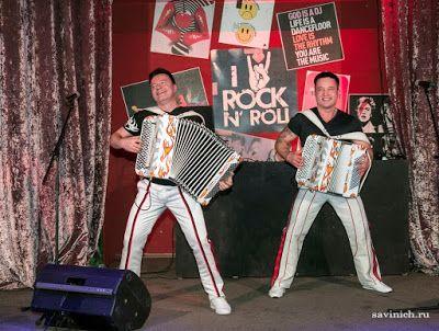 2 марта в столичном ресторане Andy\'s Restobar прошла веселая вечеринка в честь десятилетия коллектива «Баян Микс». Это был не просто праздничный концерт, а, скорее, встреча добрых друзей...Мероприятие открылось борьбой на импровизированном ринге. С...