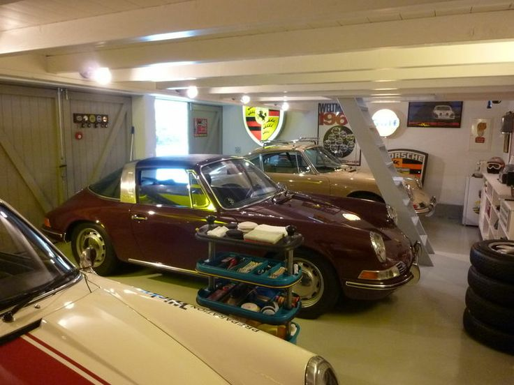 Man Cave Car Art : Porsche garage man cave baby drive my car