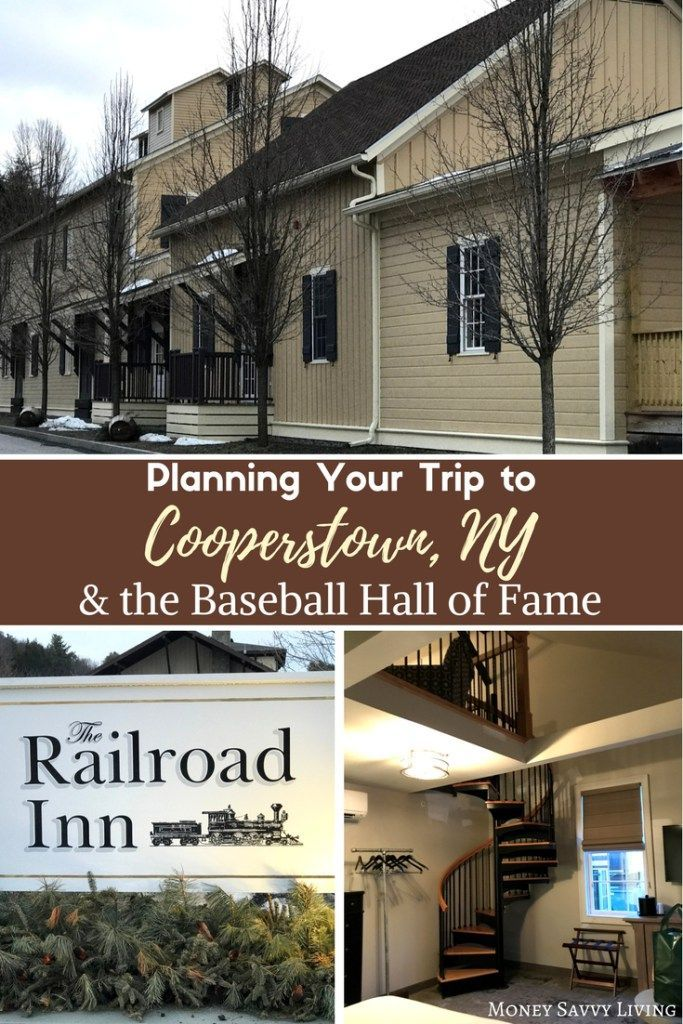 Planning Your Trip to Cooperstown, NY and the Baseball Hall of Fame // Money Savvy Living #thisisCooperstown #CNY