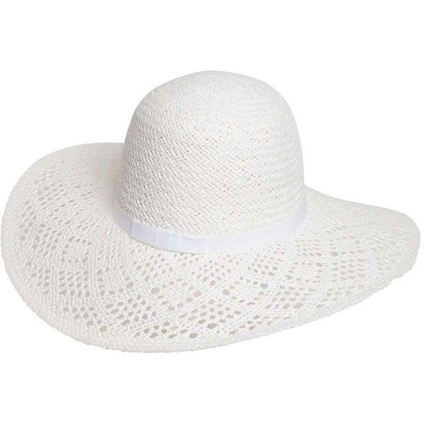 Dorothy Perkins White Lead Floppy Hat ($19) ❤ liked on Polyvore featuring accessories, hats, white, floppy hat, dorothy perkins, white hat, paper hats and white floppy hat