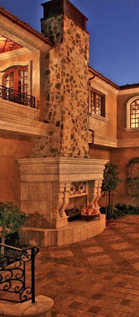 Old World Mediterranean Italian Spanish Tuscan Homes Decor Old World Mediterranean