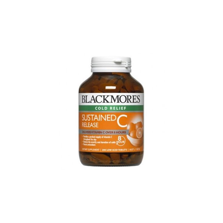 Buy Blackmores Sustained Release C 200 Tablets at Megavitamins Supplement Store Australia.Blackmores Sustained Release C Contains citrus bioflavonoids extract to boost its action in the body. Blackmores Sustained Release C use of vitamin C in the body.