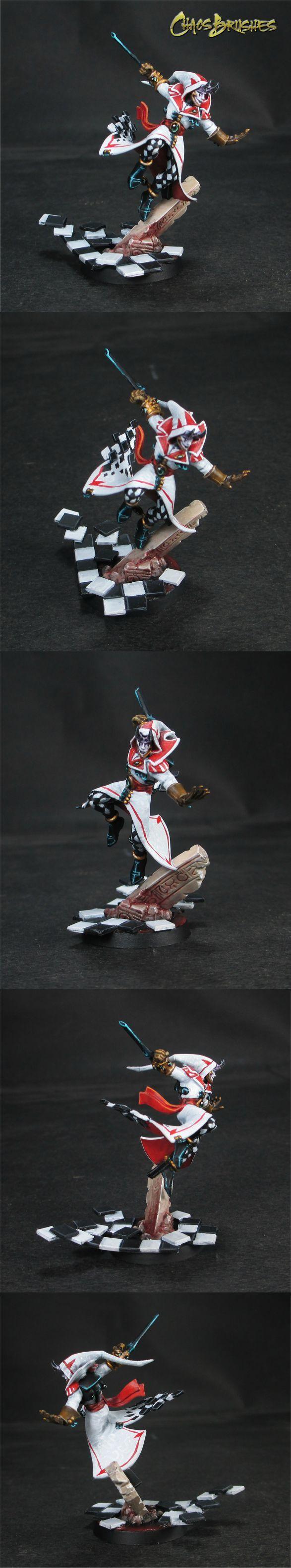Ninja Clowns in Spess (A Harlequin blog)