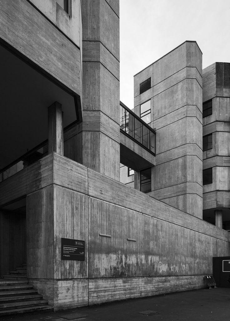 John Leslie Martin ~ Tinbergen Building ~ Zoology and Psychology Departments, Oxford University, Oxford, UK ~ 1971