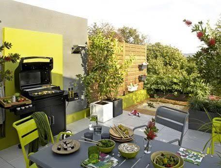 cuisine ete exterieure amenagee sur terrasse