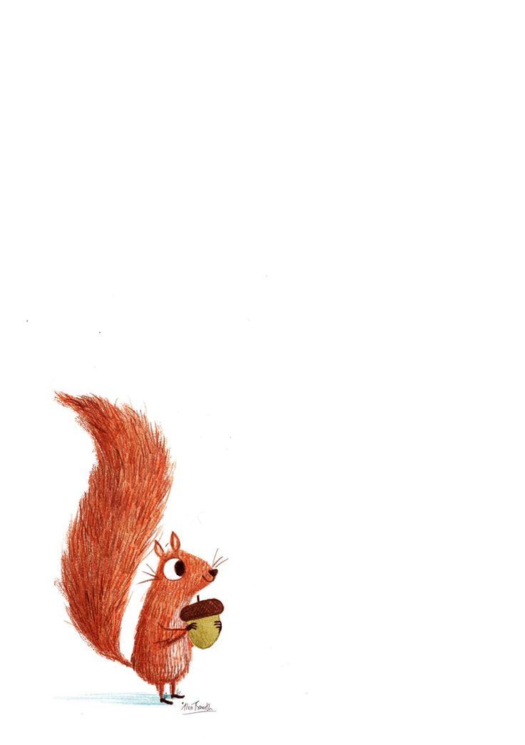 SQUIRREL Alex T Smith Vielleicht eine Vorlage zum Brandmalen | leetle shhquirrel
