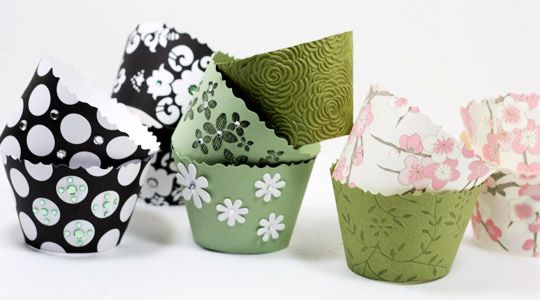 DIY Wrappers Cupcake