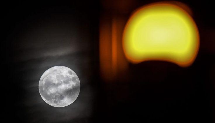 Superluna: el mundo bajo el embrujo de la Luna gigante en el cielo | FOTOS