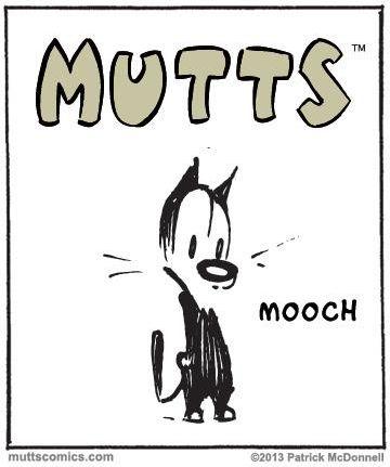 #Mutts #Comic #Mooch #Cat #BD #PatrickMcDonnell