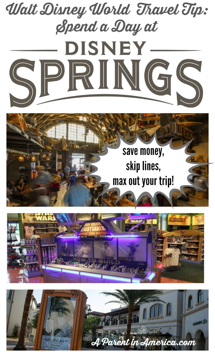 Disney Travel Tip Disney Springs
