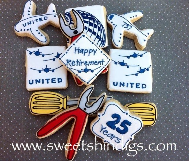 Sweet Shindigs: United Airline Airplane Mechanic ...