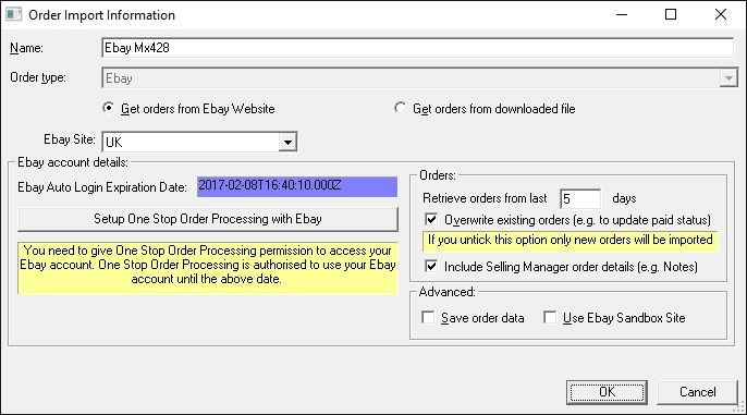 How To Automatically Import Orders From Ebay Into One Stop Order