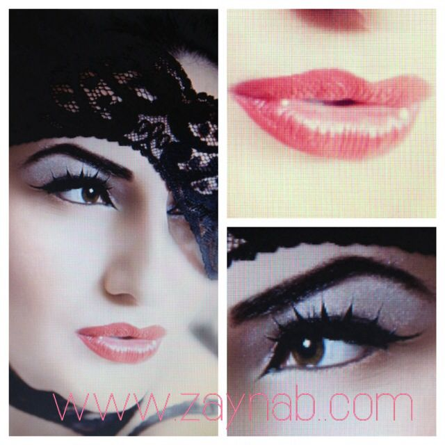 Hollywood, glamour, beauty, makeup, classic, red lips, eyeliner,