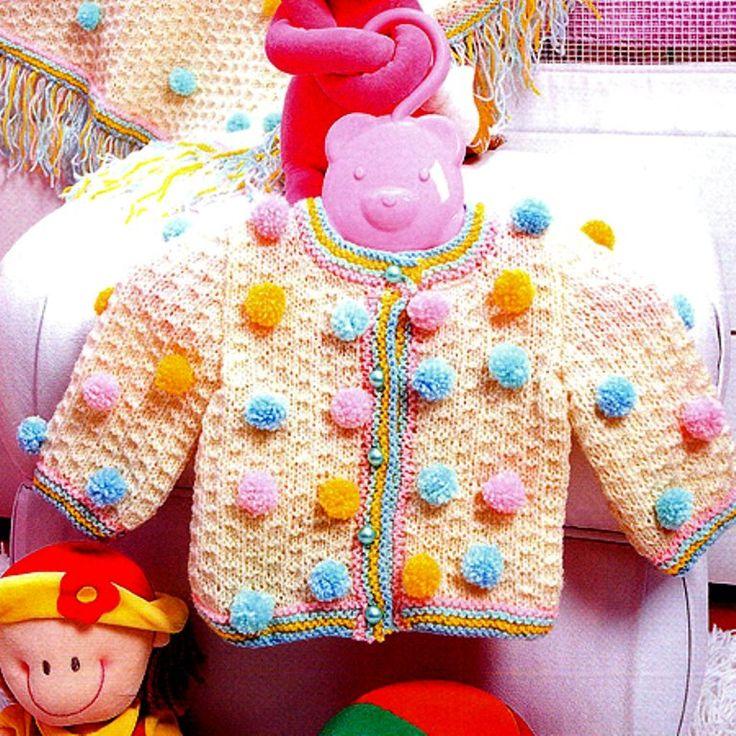 Ponponlu Kız Çocuk Hırka Yapımı,Ponponlu Kız Çocuk Hırka Yapılışı,Ponponlu Kız Çocuk Hırka Anlatımlı,Ponponlu Kız Çocuk Hırka Açıklamalı,