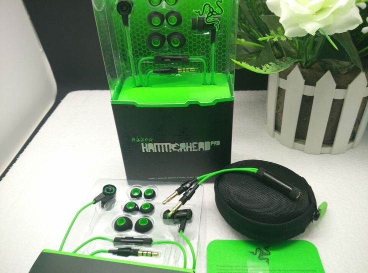 FREE Shipping TODAY Razer Hammerhead Pro Headphone&Earphone With Microphone and Retail Box In Ear Gaming headsets noise isolation stereo bass 3.5mm - thousands of products found here http://electronics.peaklifelink.com/