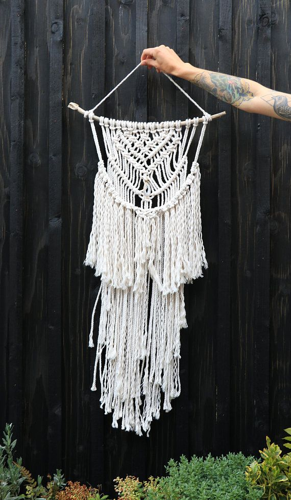 Macrame Wall Hanging medium boho wall