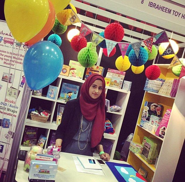 A British Muslim mum has opened the country's first on line Islamic toy store after seeing a gap in the market.