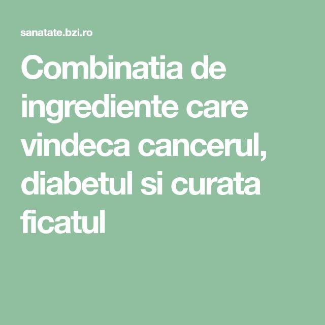 Combinatia de ingrediente care vindeca cancerul, diabetul si curata ficatul