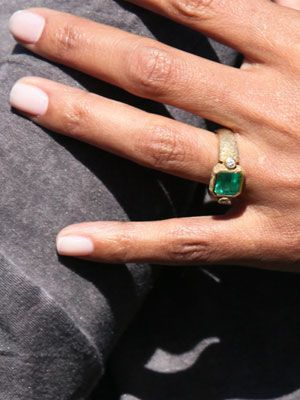 Halle Berry #engagement #ring