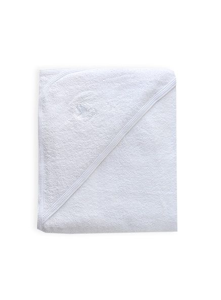 Best for our baby's sensitive skin  #DearPumpkinPatch  Pumpkin Patch - towels - ecosprout organic baby hooded towel - P1BS30068 - white - osfa
