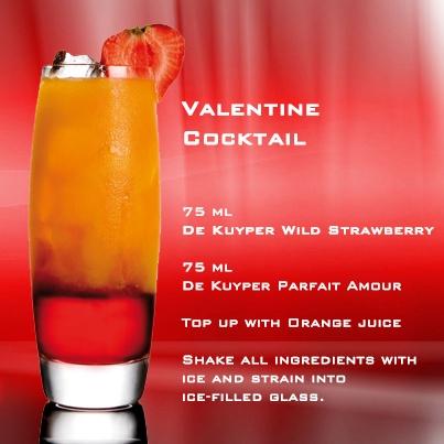 De Kuyper Valentine Cocktail