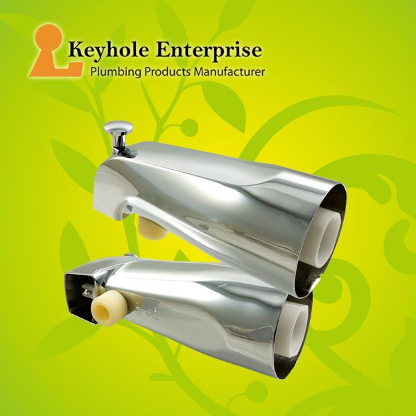 Superbe Universal Tub Spout With Handheld Shower Fitting. 100% Made In Taiwan.