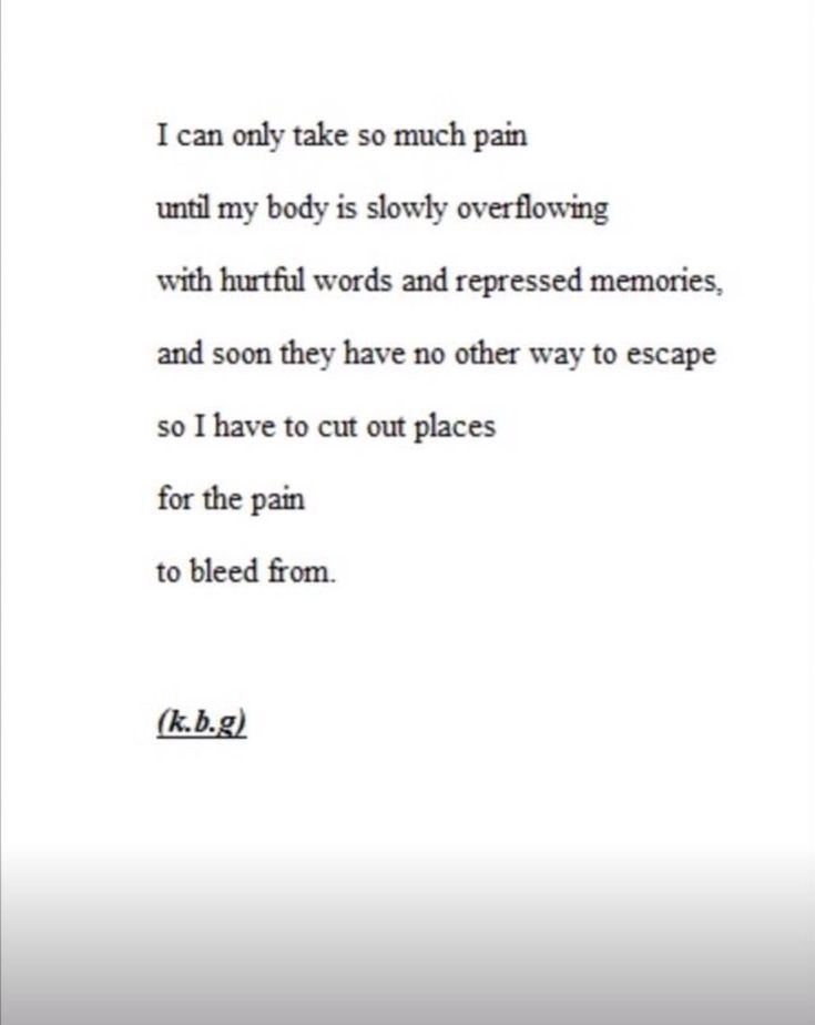 Depressing Quotes About Cutting: Depression Cutting Quotes. QuotesGram