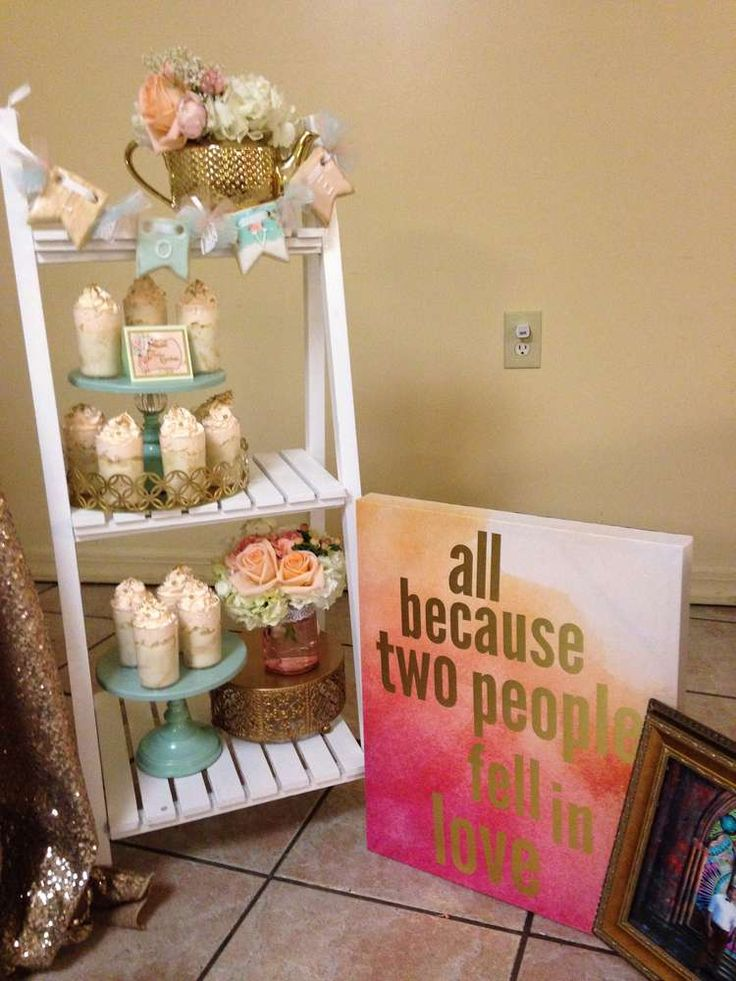 Shabby chic BridalWedding Shower Party Ideas