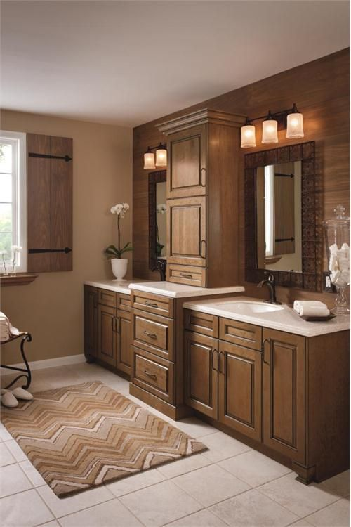 Photography Gallery Sites great idea for master bathroom towel pantry lighting tile rustic