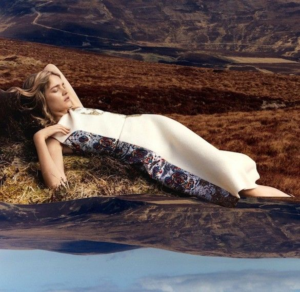 air jordan store uk Natalia Vodianova for Stella McCartney F W 2015 Campaign