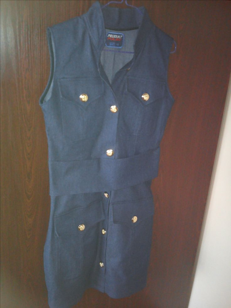 sukienka z dżinsu